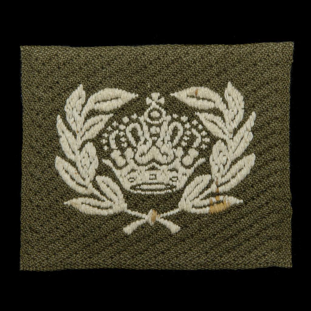 Rangonderscheidingsteken Sergeant Majoor Brabants weefsel