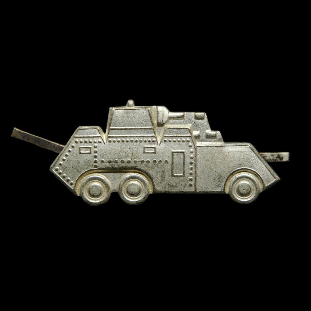 Kraagembleem Cavalerie Eskadron Pantserwagens