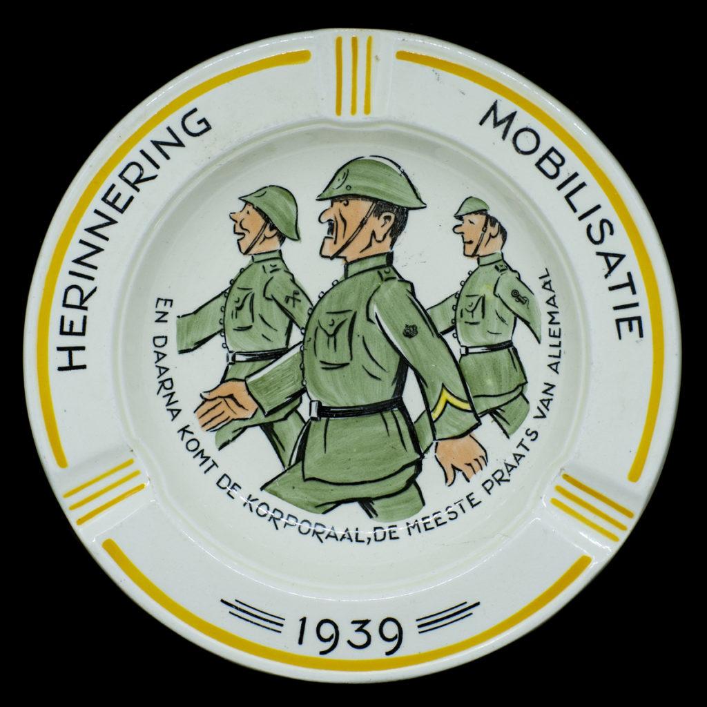 Mobilisatie asbak 1939