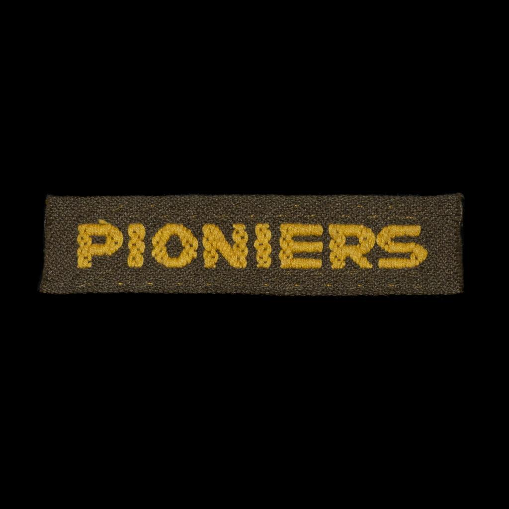 Schouderembleem Pioniers