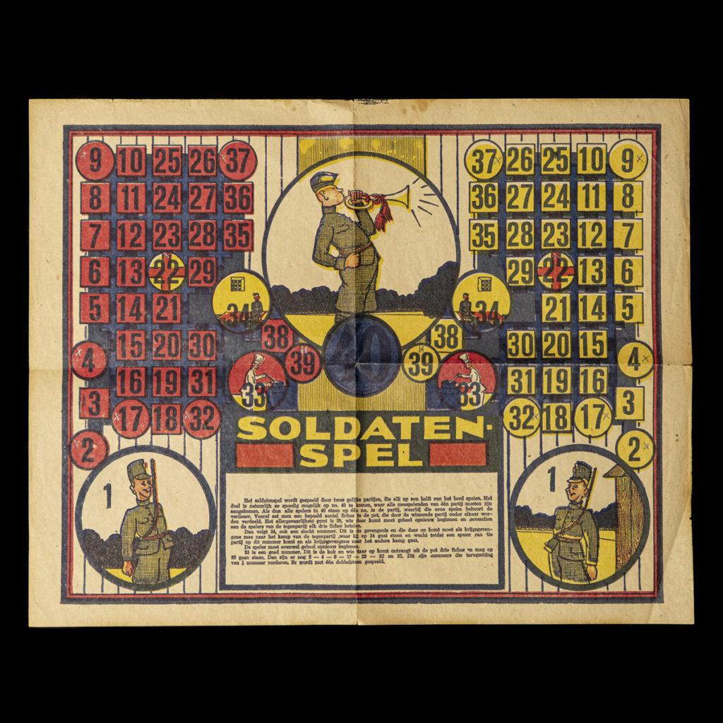 SOLDATEN-SPEL K369, Drukkerij Reiman Amsterdam