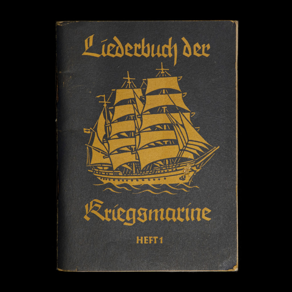 Liederbuch der Kriegsmarine HEFT 1