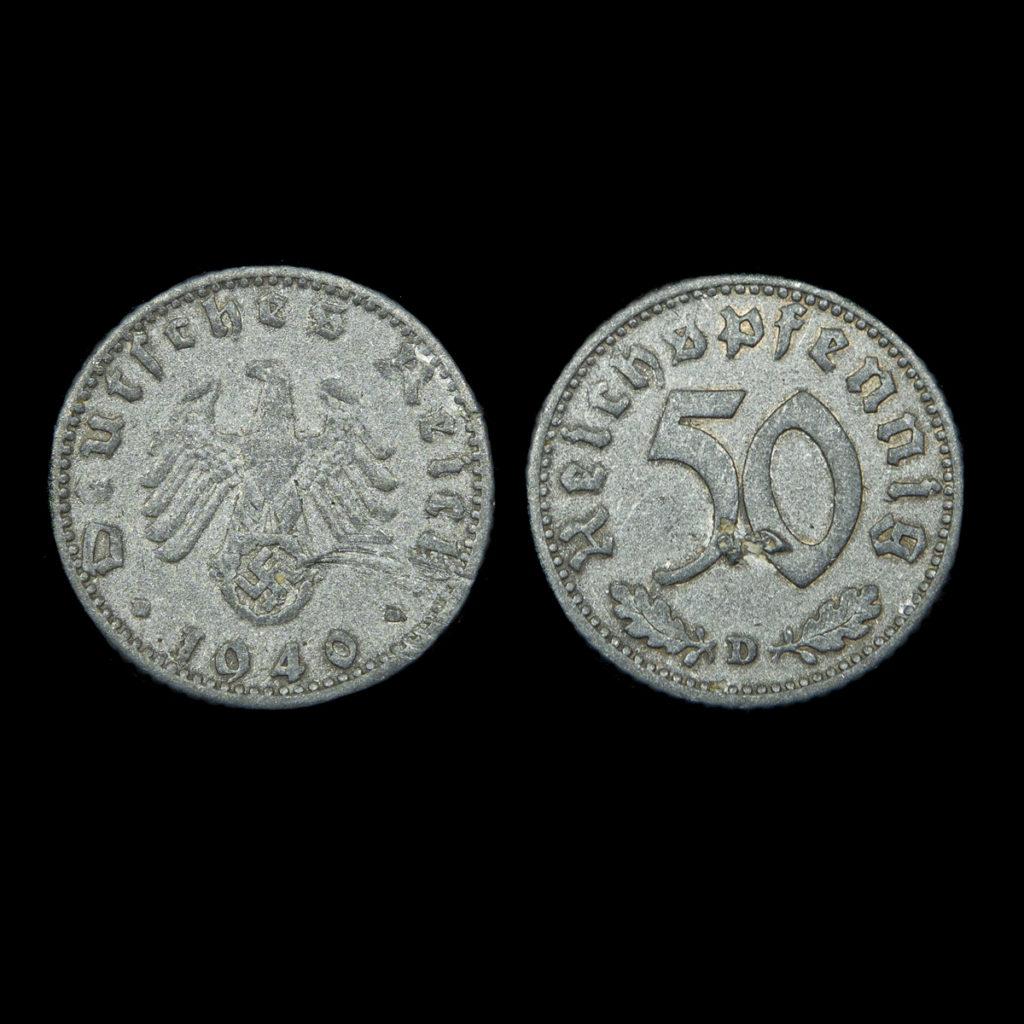 50 Reichspfenning 1940
