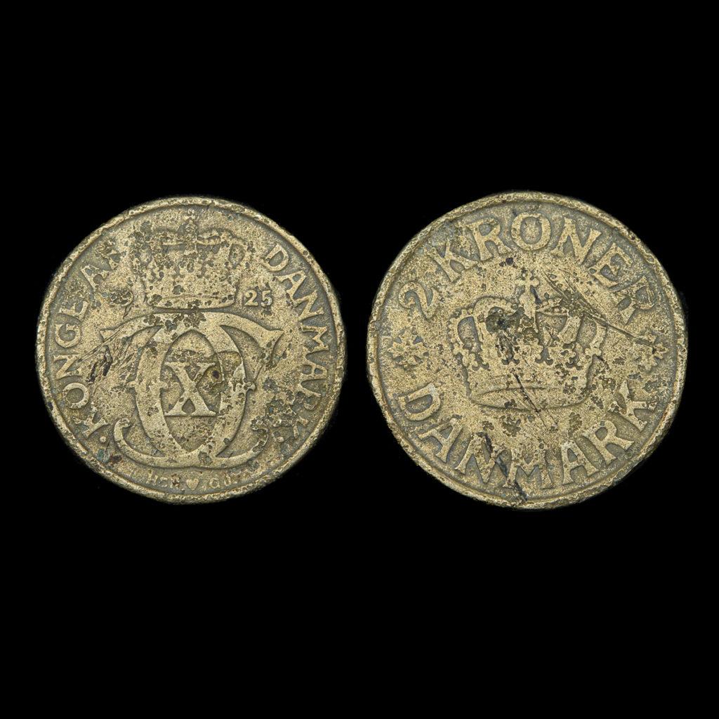2 Kroner Danmark 1925