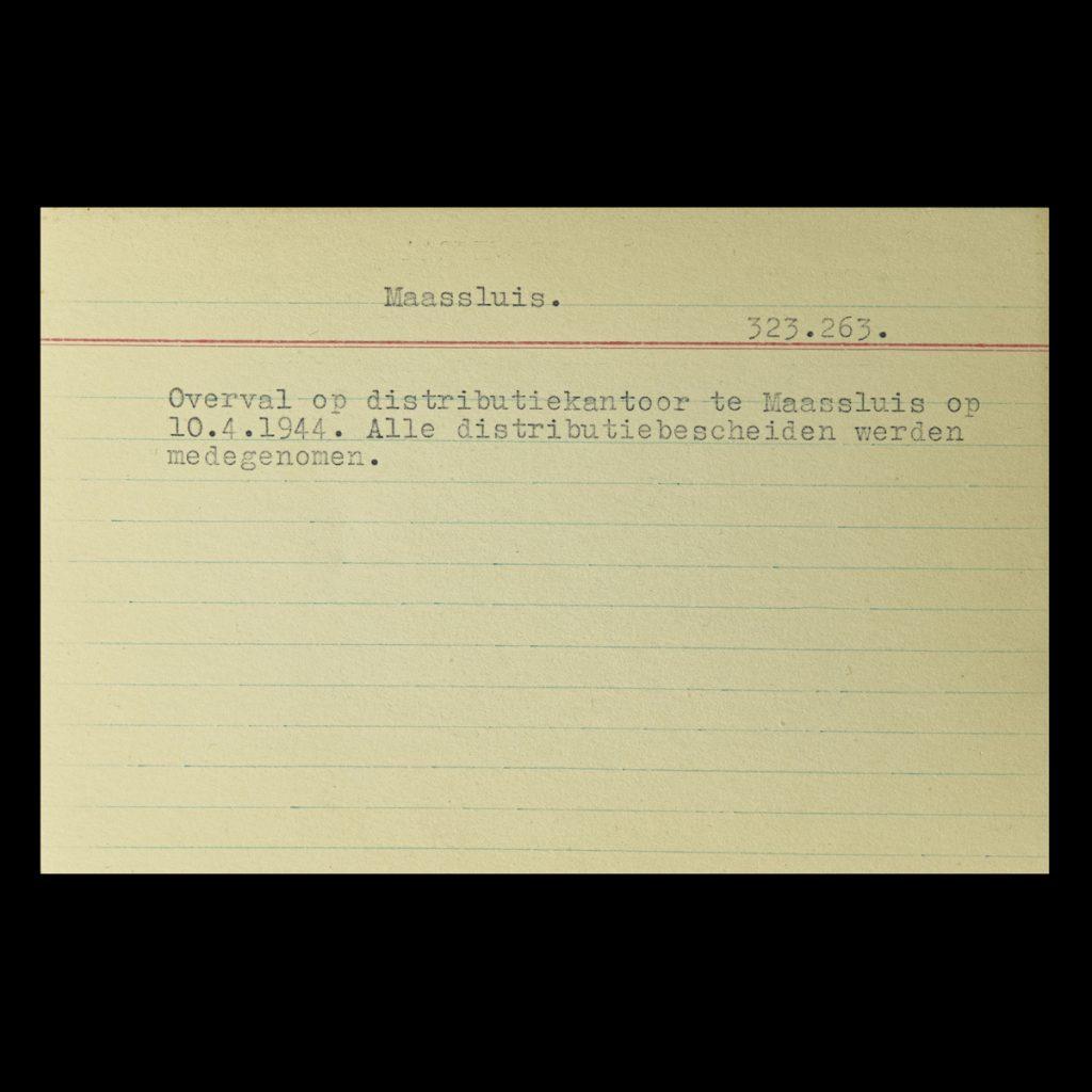 Registratie NSB archief