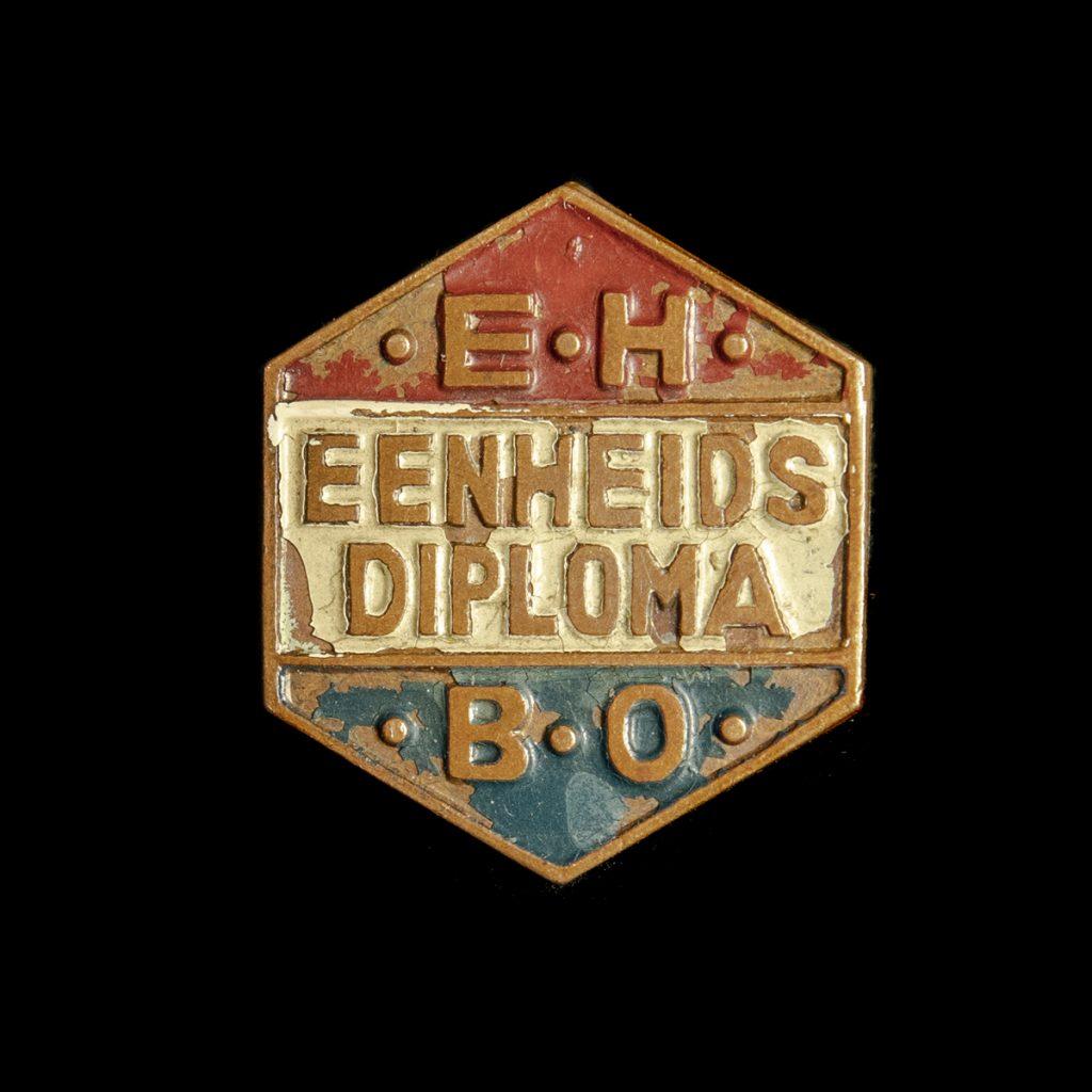 E.H.B.O. Eenheidsdiploma speld