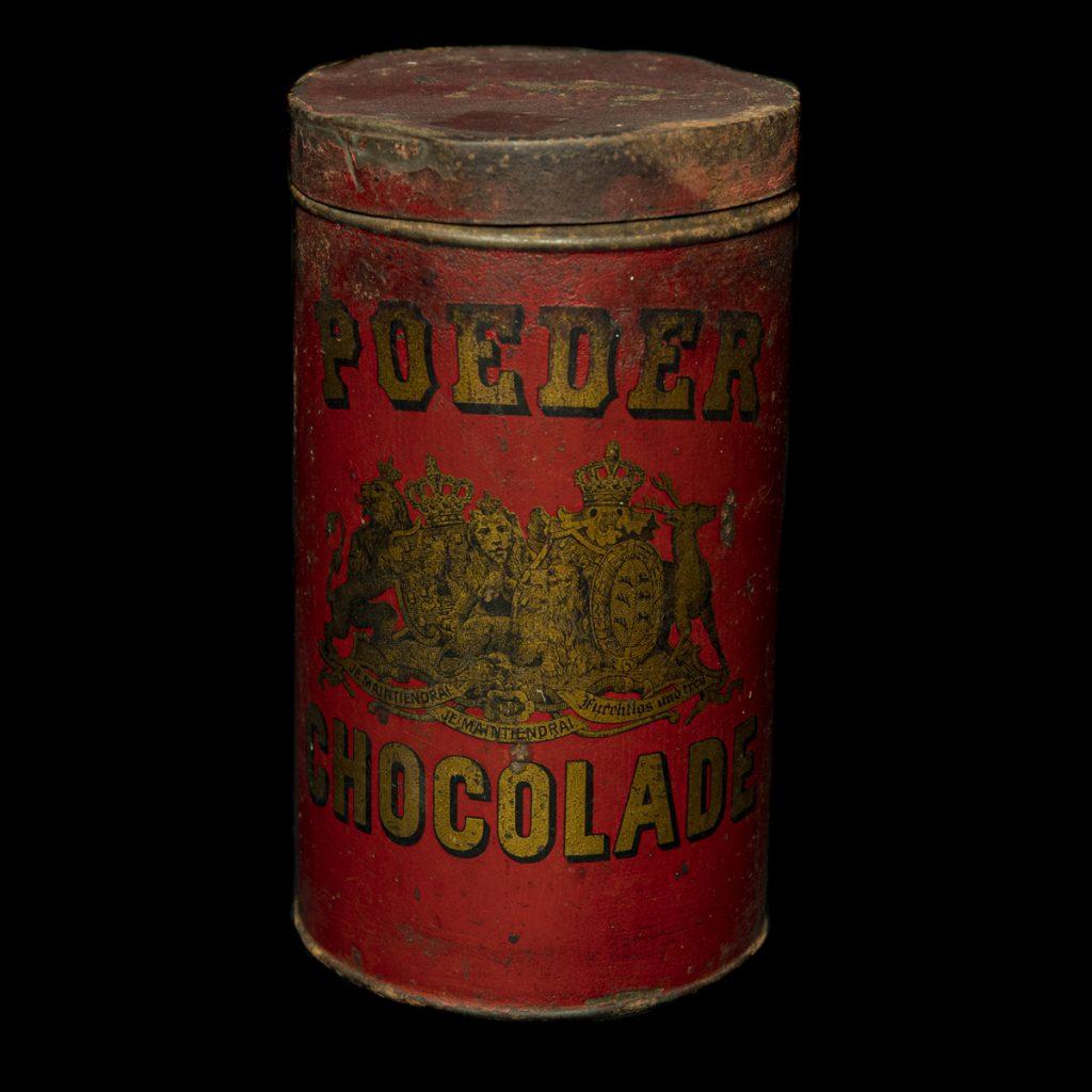 Blik Poeder Chocolade