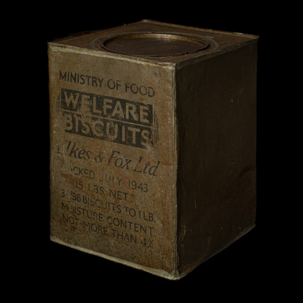 Welfare Biscuits Elkes & Fox Ltd.