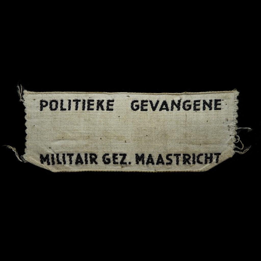 Borstembleem Politieke Gevangene Militair Gezag Maastricht