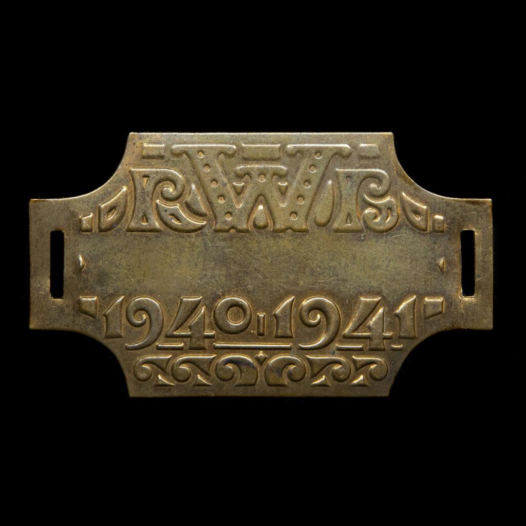 Rijwiel Belastingplaatje 1940-1941
