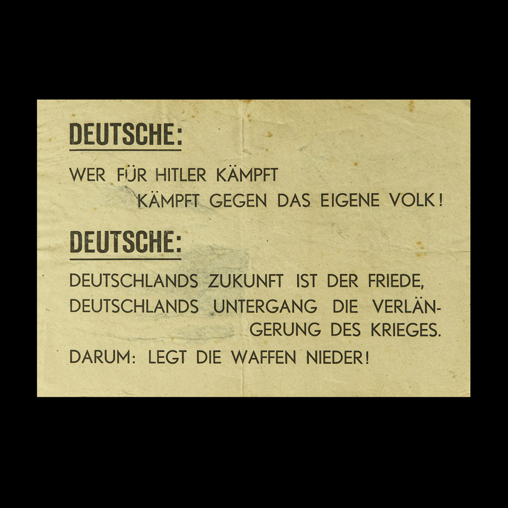 Propaganda affiche