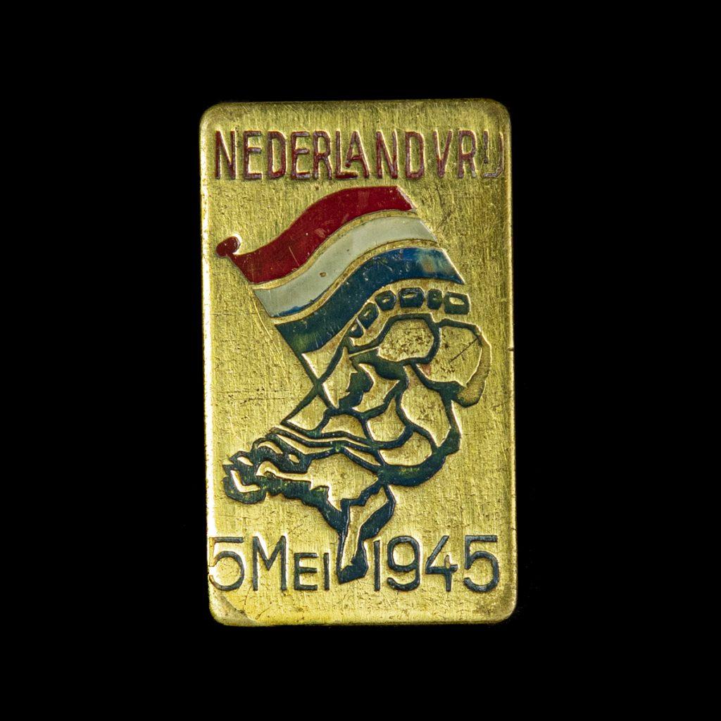 NEDERLANDVRIJ 5 MEI 1945 speld