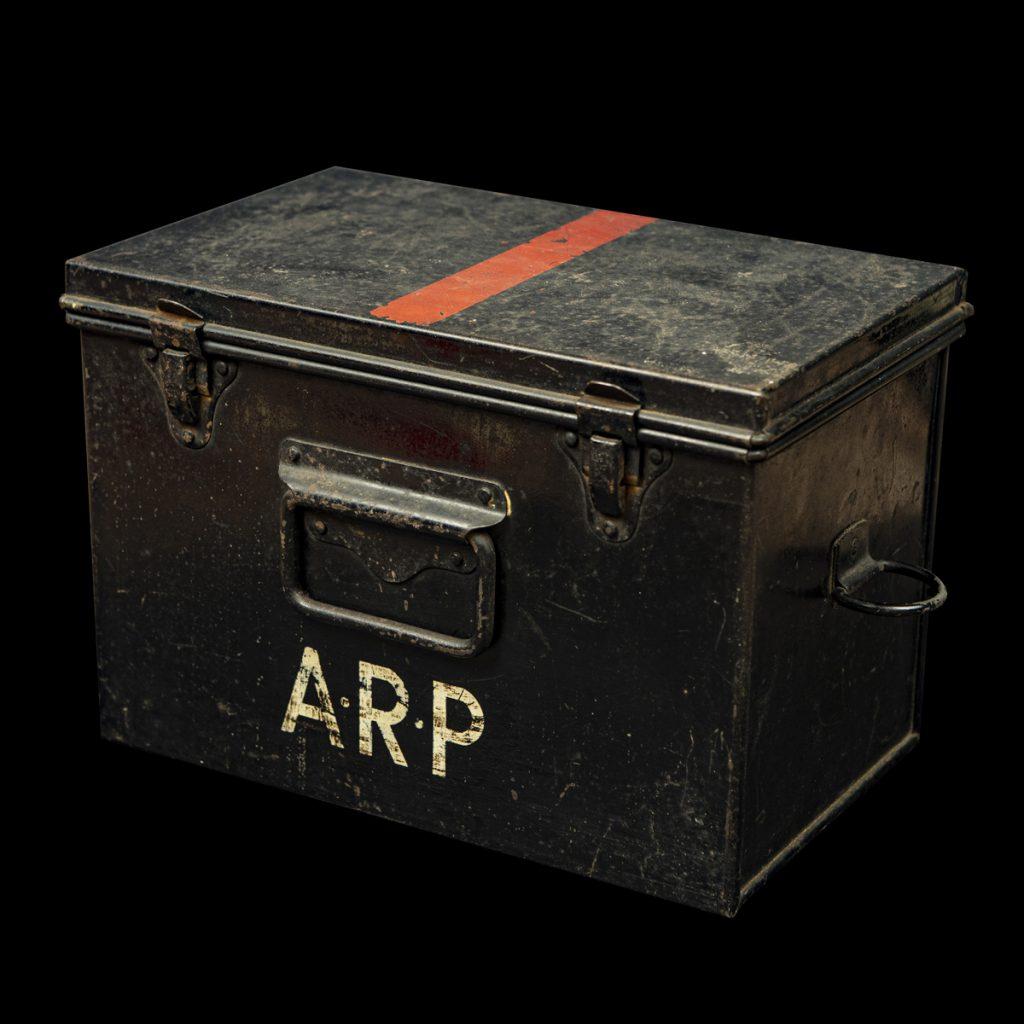 A.R.P. Eerste Hulp kistje