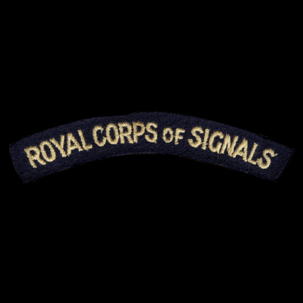 Britse Royal Corps of Signals Armembleem