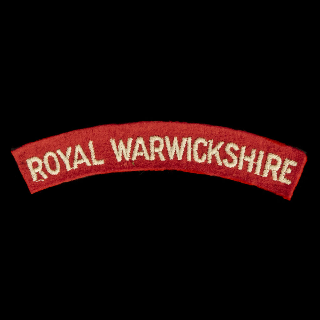 Britse Royal Warwickshire Armembleem