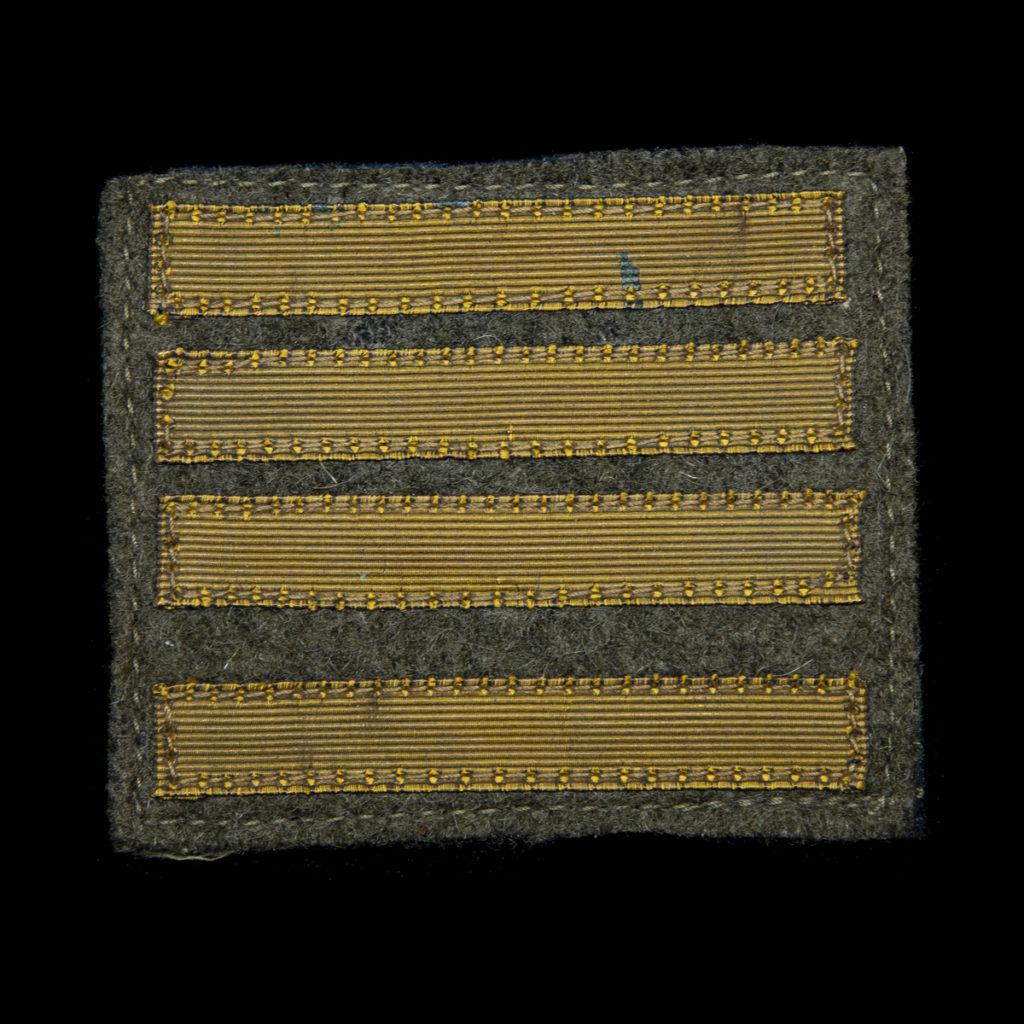Franse rangstrepen Commandant