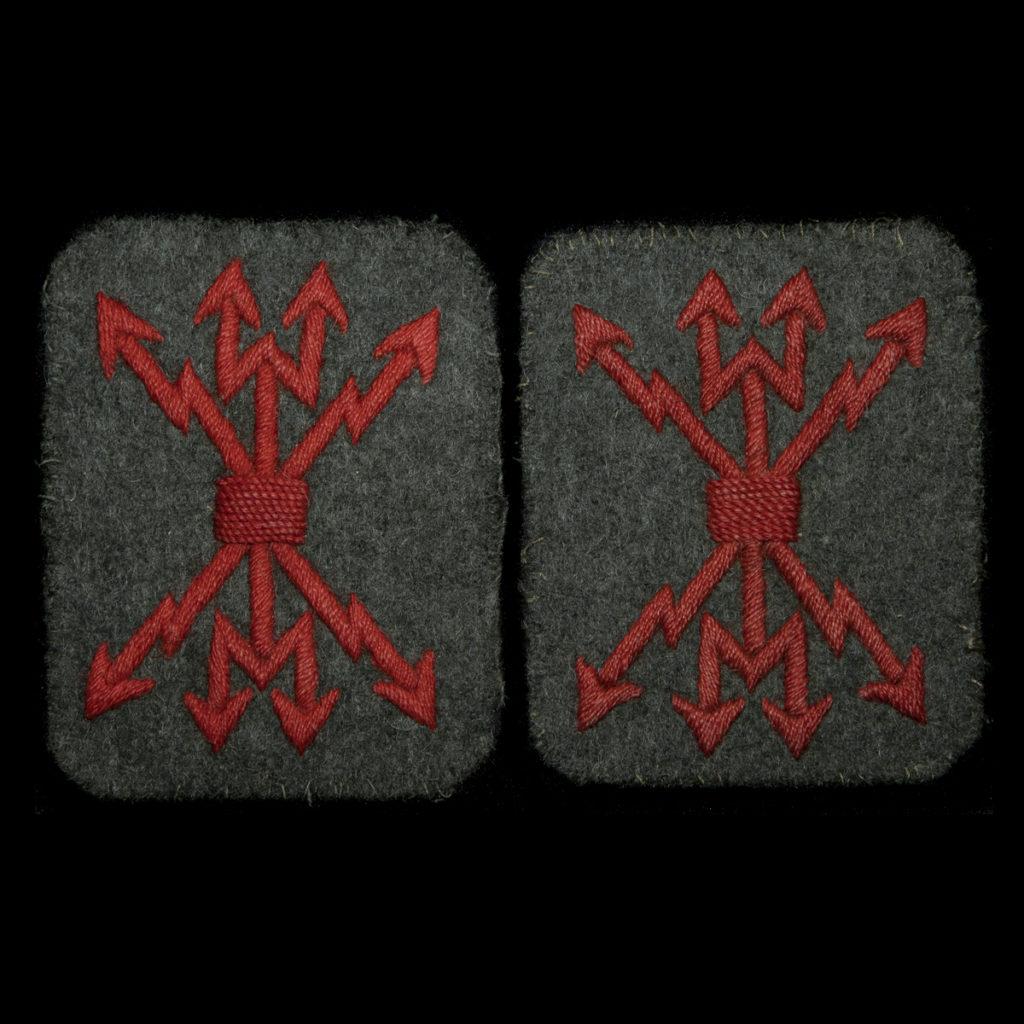 Arm emblemen Telegrafist