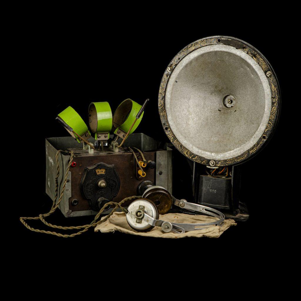 Illegale zelfgemaakte radio