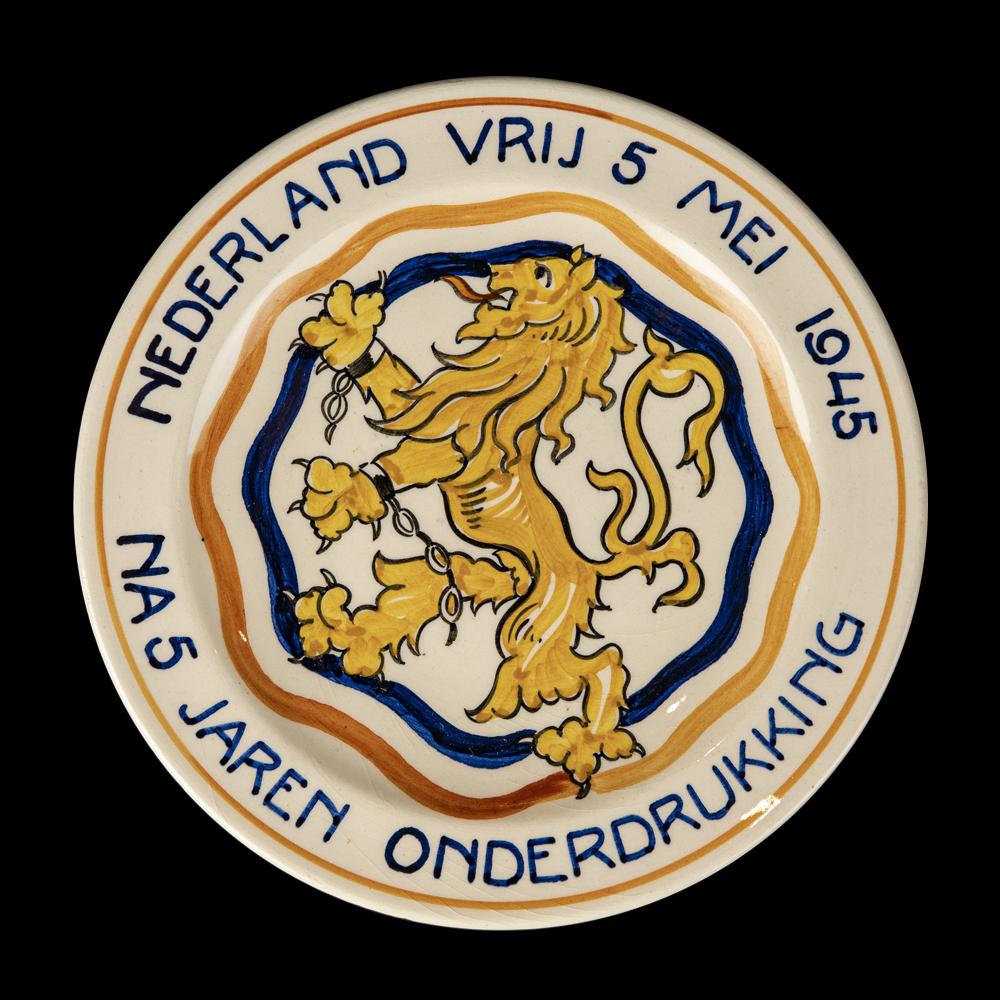 Nederland Vrij 5 mei 1945 Na 5 Jaren Onderdrukking