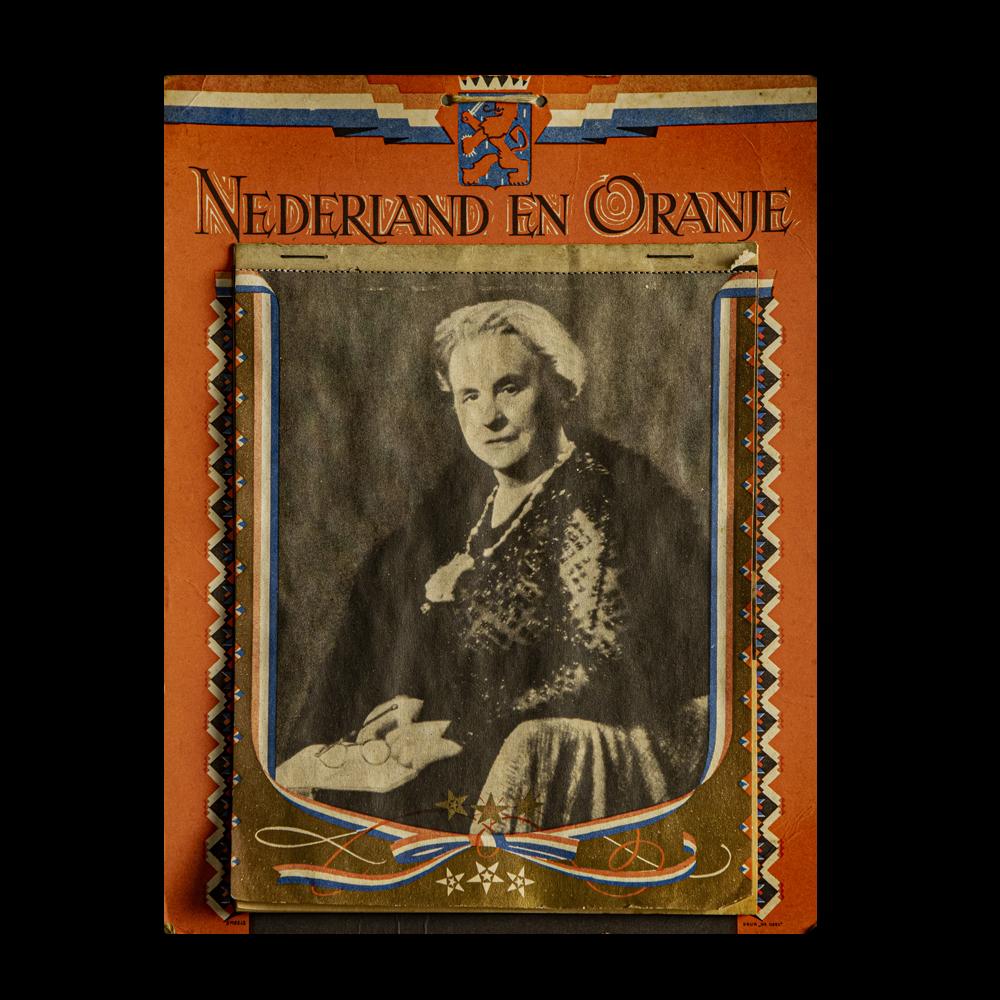 Nederland en Oranje kalender 1945