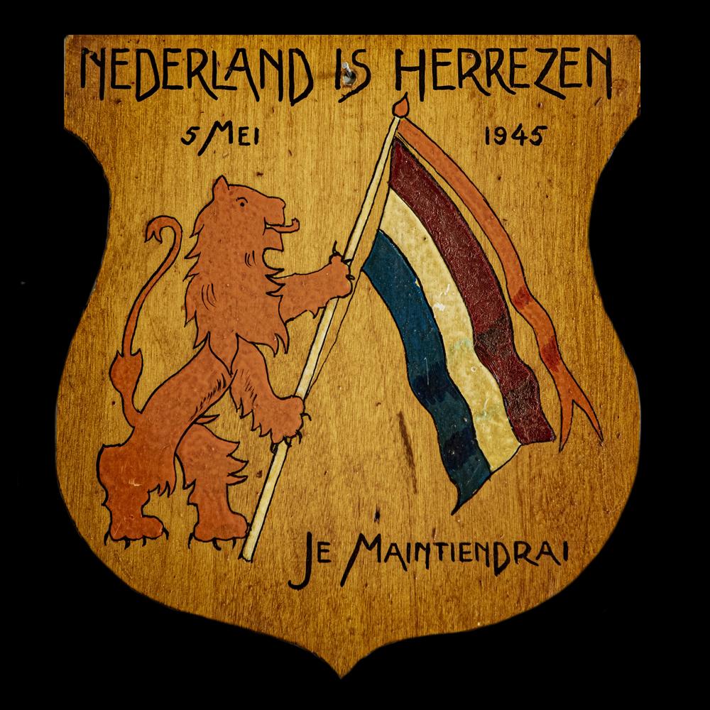 Nederland Is Herrezen 5 mei 1945 Je Maintiendrai