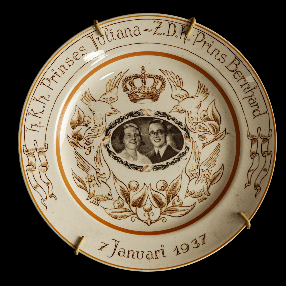 h.K.h. Prinses Juliana – Z.D.h. Prins Bernhard 7 Januari 1937