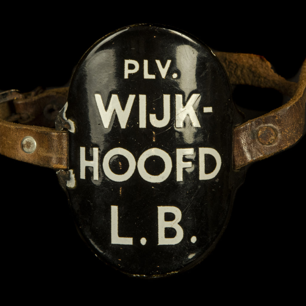 Emaille Armband PLV WIJK-HOOFD L.B.