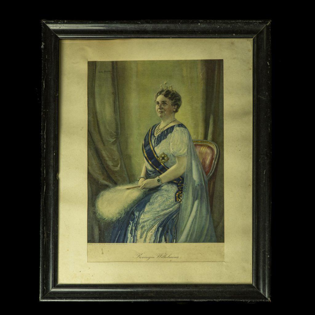 Portret Koningin Wilhelmina