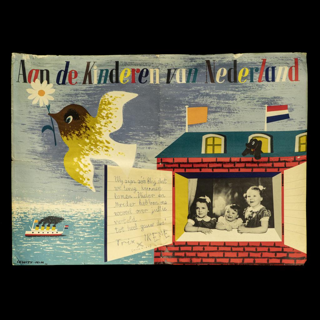 Aan de Kinderen van Nederland affiche