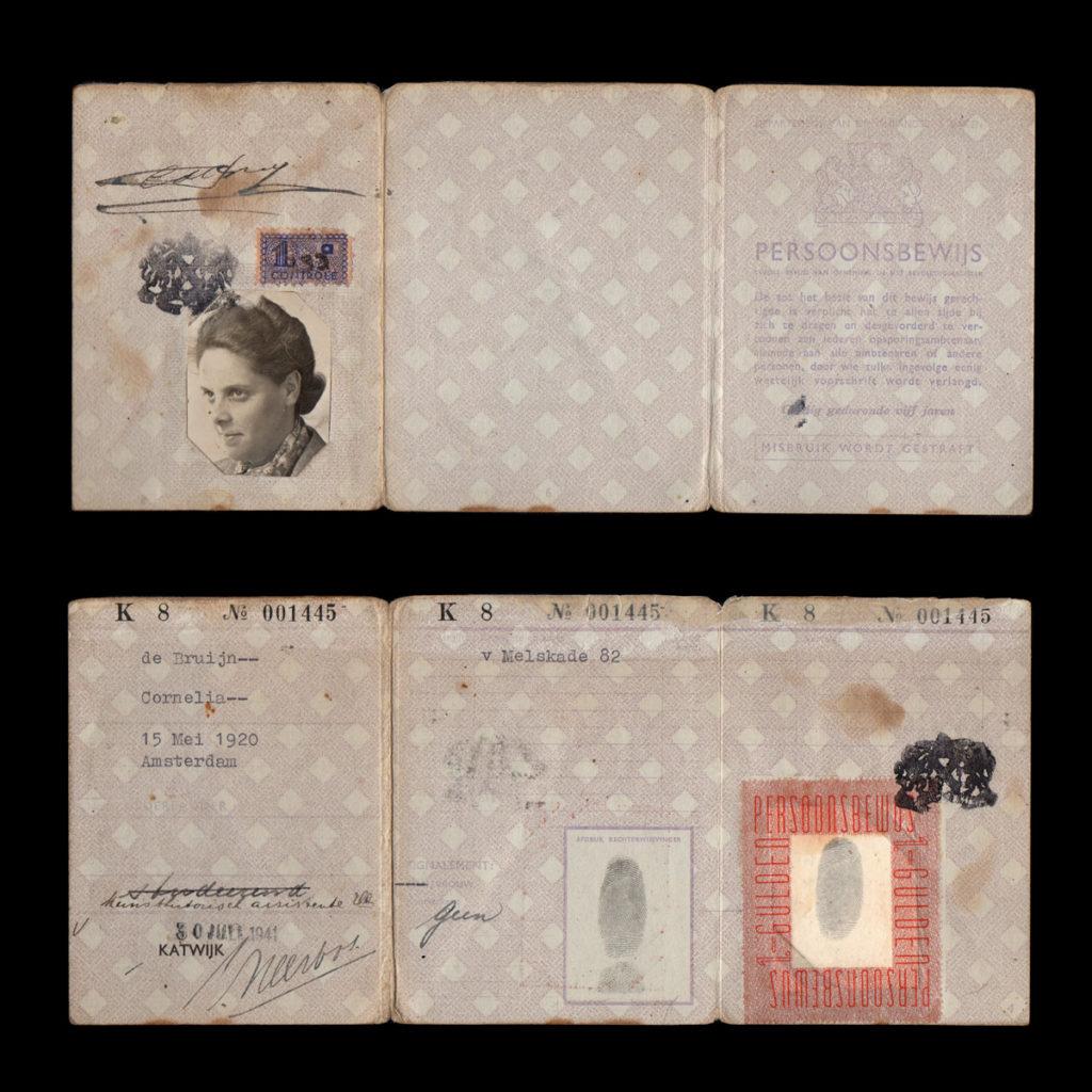 Persoonsbewijs C. de Bruijn Katwijk