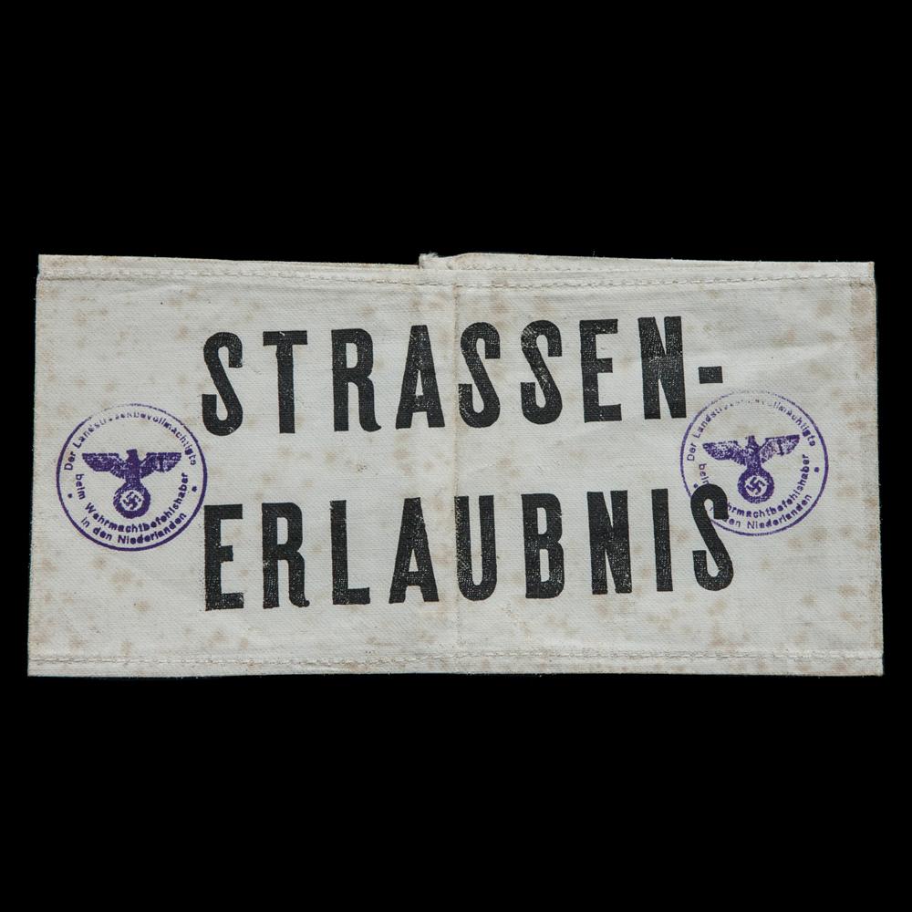 Strassen-Erlaubniss armband