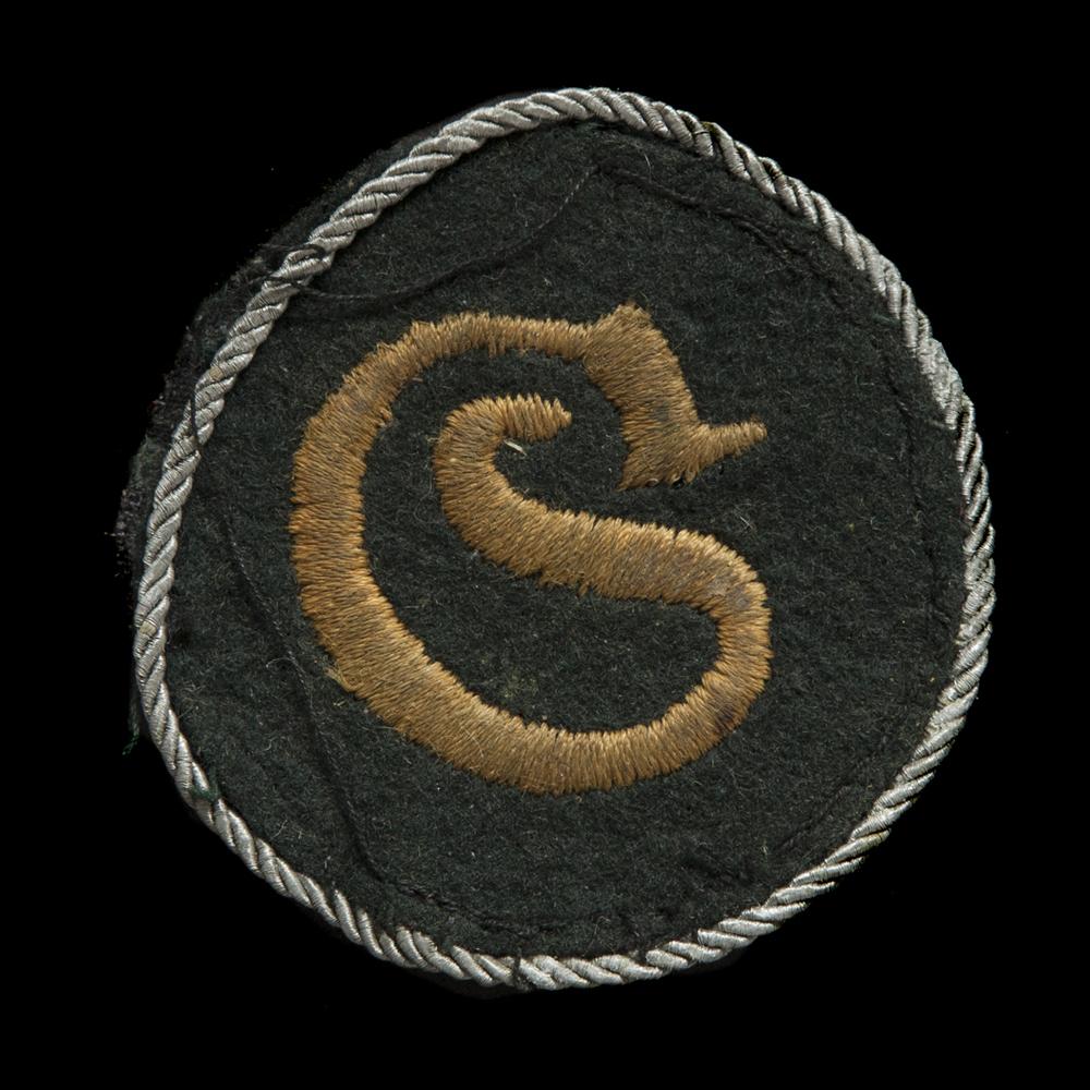 Schirrmeister Offizier arm-embleem