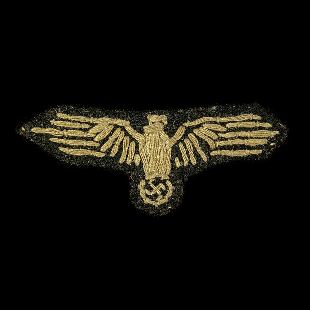 Waffen SS handgemaakte 'huisvlijt' Arm-adelaar