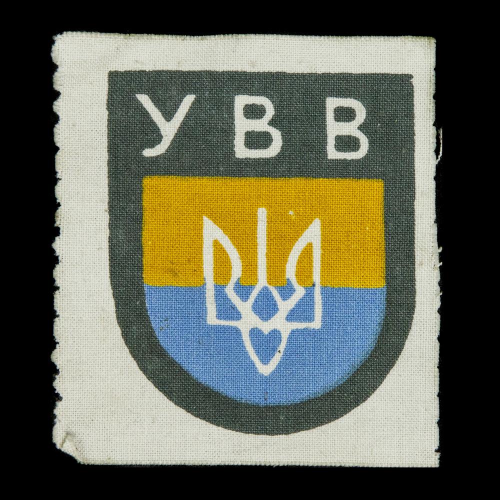 Oekraïense Vrijwilligers Armschildje