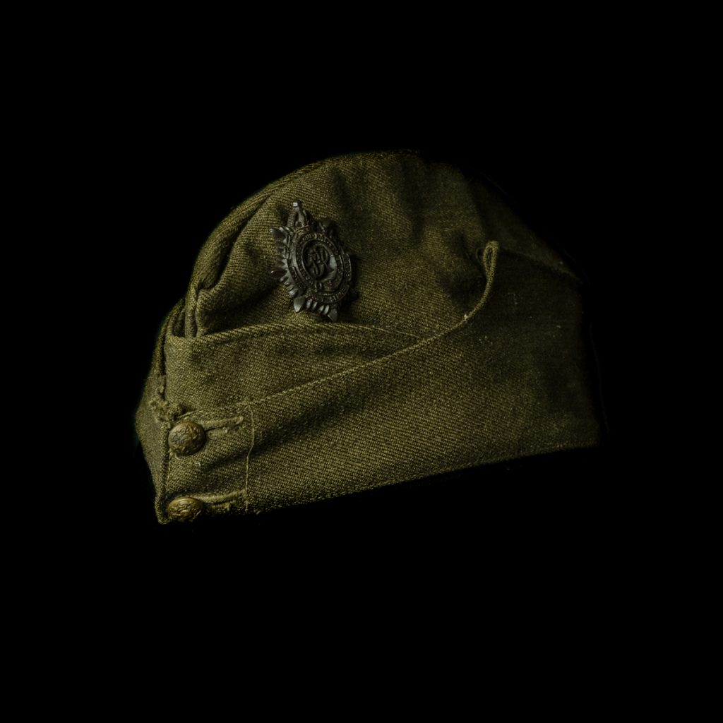 Britse Royal Army Service Corps Field Service Cap