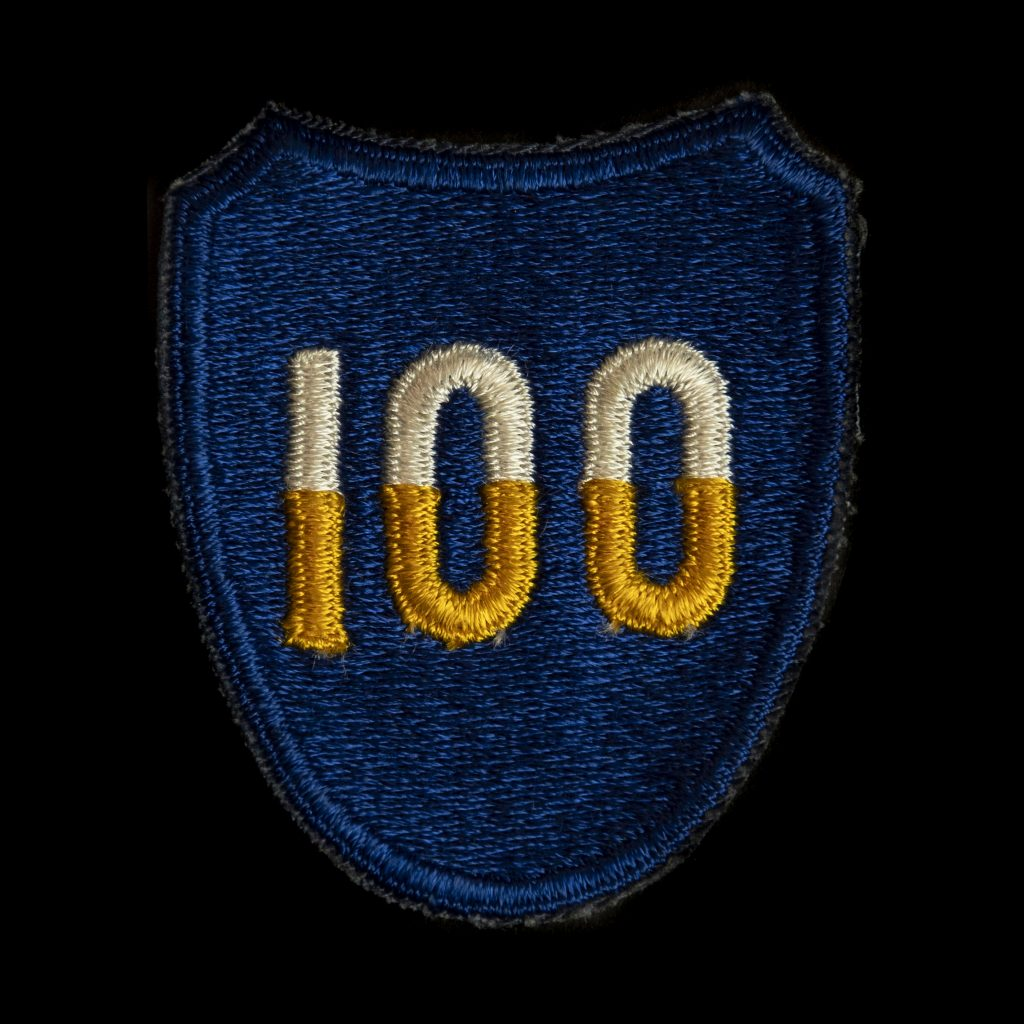 US Army 100th Infantry Division