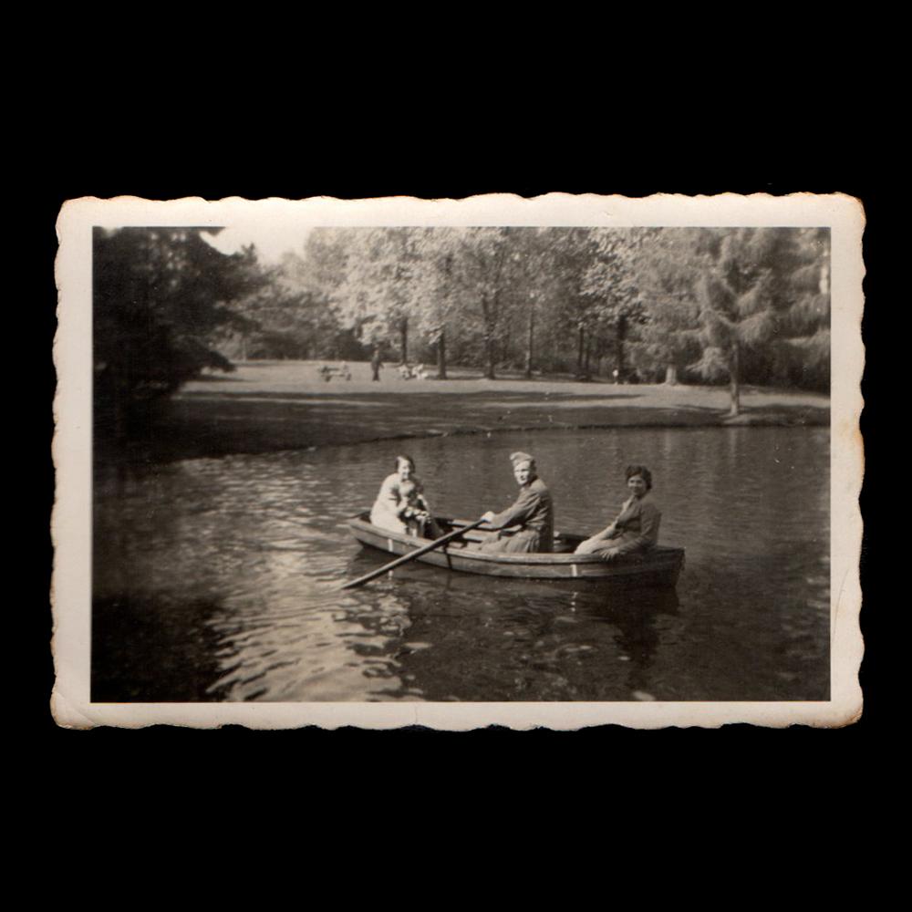 Vlaardingen Hof Oranjepark 1943