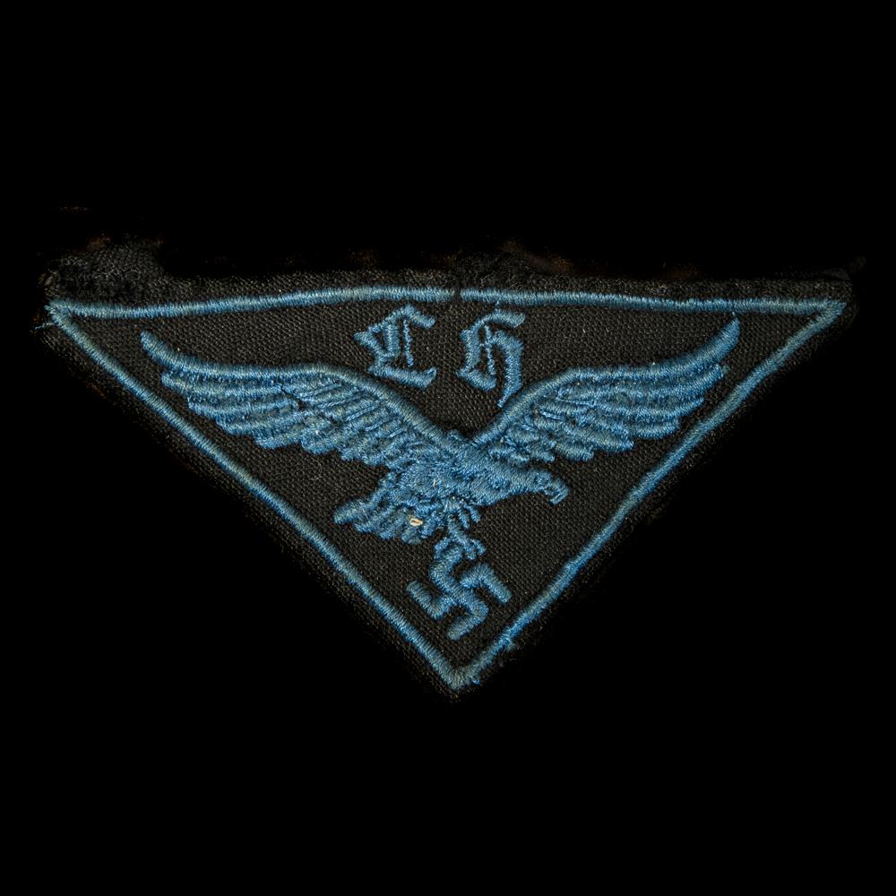 HJ Luftwaffe Flak Helfer Armembleem