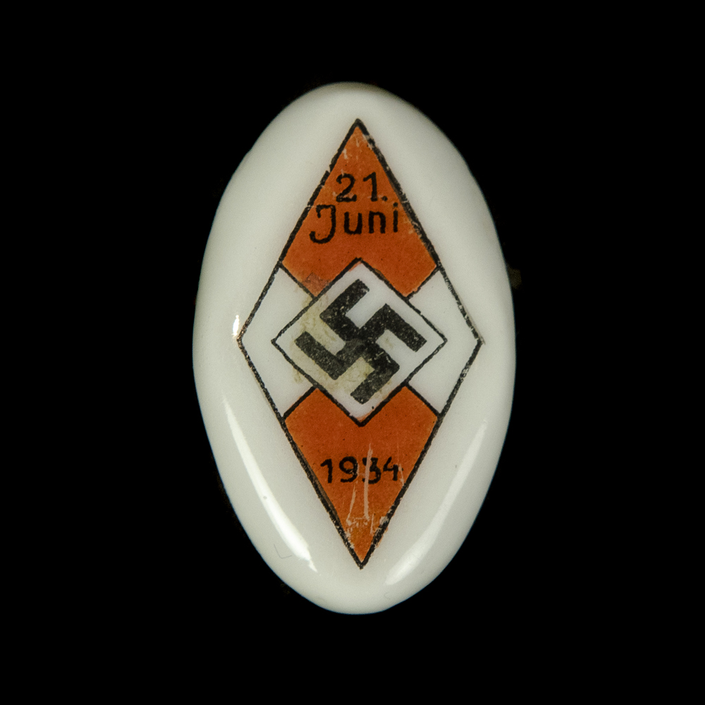 Siegernadel der HJ Reichssportwettkämpfe 1934